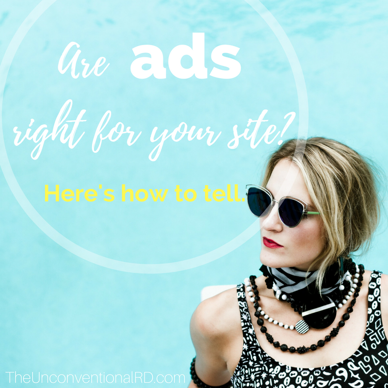 Are ads right for your site?