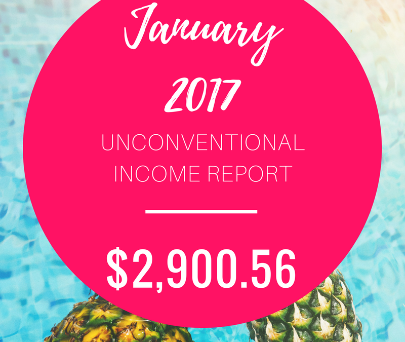 January 2017 Unconventional Income Report