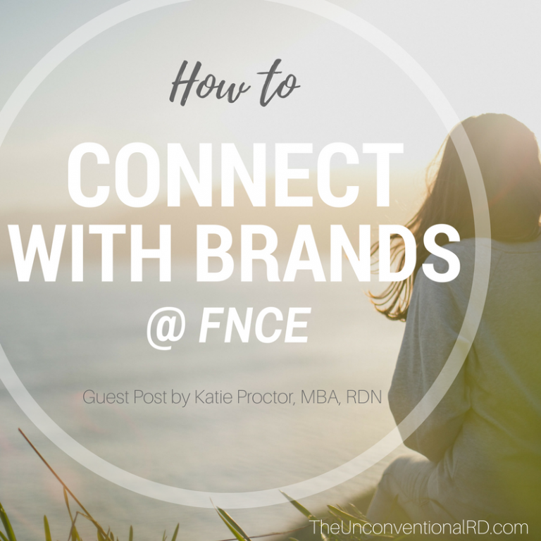 How to Connect with Brands at FNCE