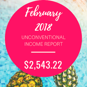 February 2018 Unconventional Income Report