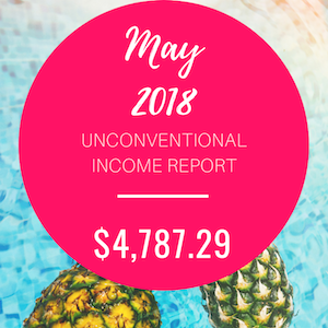 May 2018 Unconventional Income Report