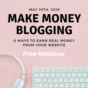 Blog Monetization Webinar