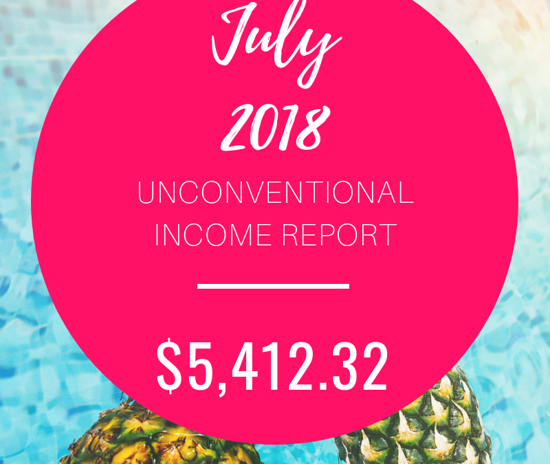 July 2018 Income Report