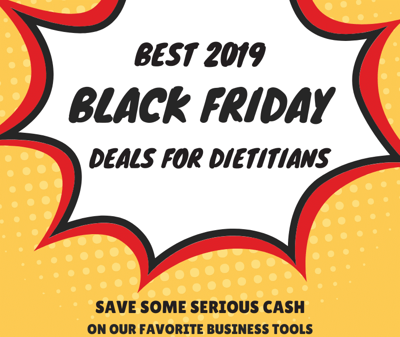 The Best 2019 Black Friday Deals for Dietitians