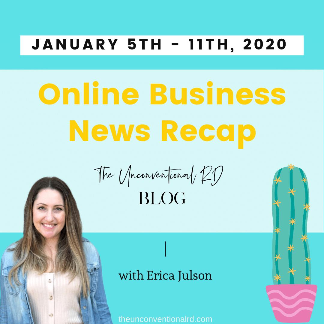 TURD Online Business News Recap Jan 5th-11 2020