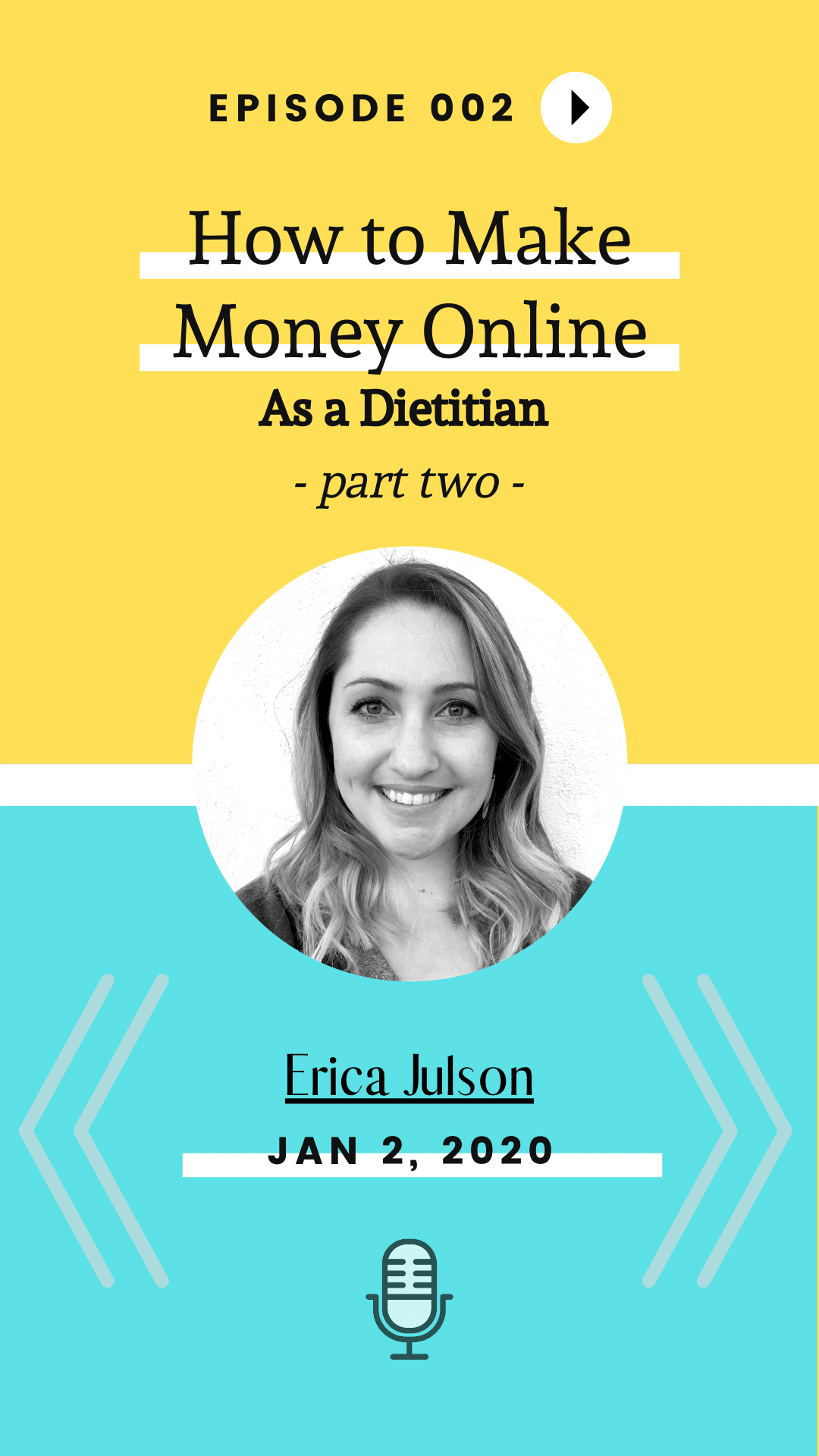 TURD002 How to Make Money Online As A Dietitian Part 2 Image