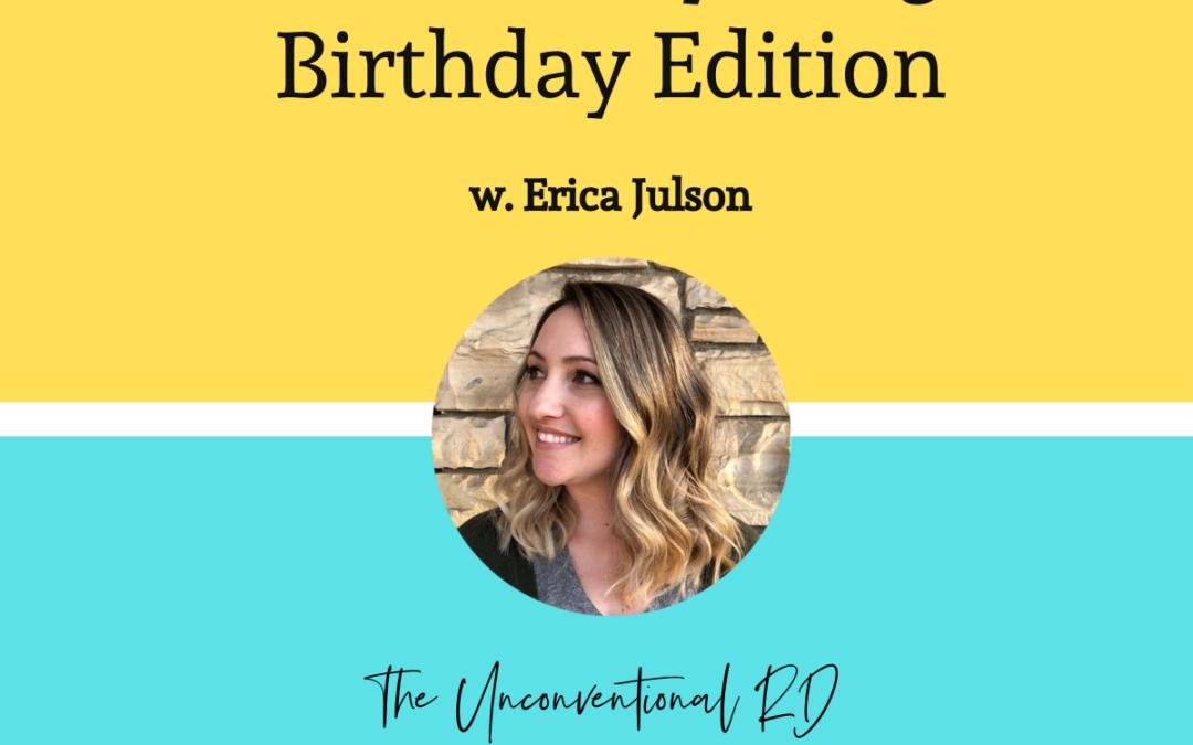 TURD 009 AMA Birthday Edition with Erica Julson
