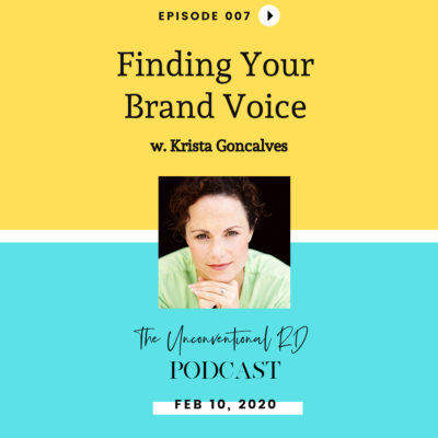 #007: Finding Your Brand Voice with Krista Goncalves