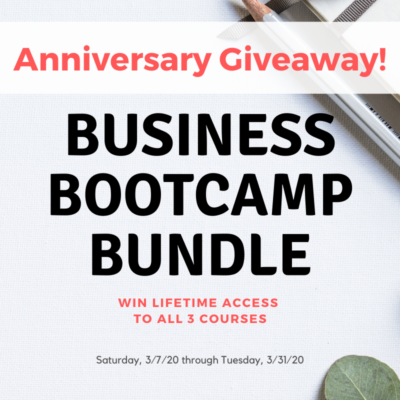 3rd Anniversary Giveaway