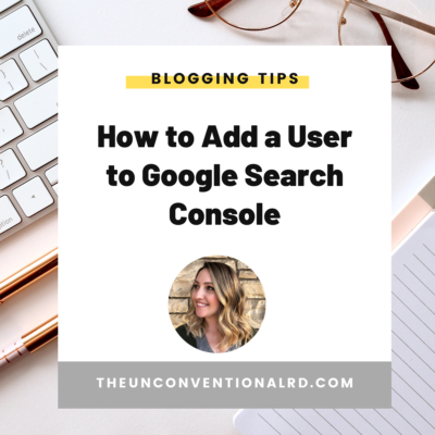 How to Add a User to Google Search Console
