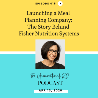 #015: Launching a Meal Planning Company: The Story Behind Fisher Nutrition Systems with Suzi Fisher