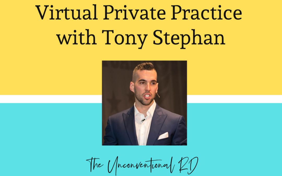 TURD016 Building a Six-Figure Virtual Private Practice with Tony Stephan