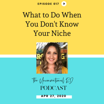 #017: What To Do When You Don't Know Your Niche