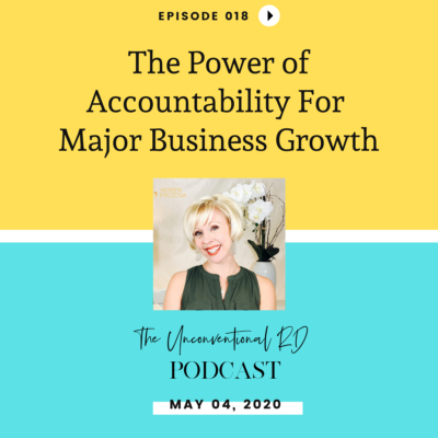 #018: The Power of Accountability for Major Business Growth