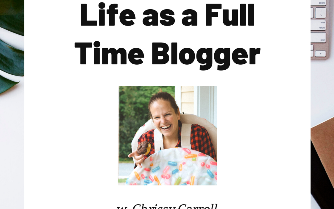 TURD019 Life as a Full Time Blogger with Chrissy Carroll