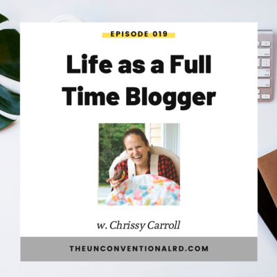 #019: Life as a Full-Time Blogger