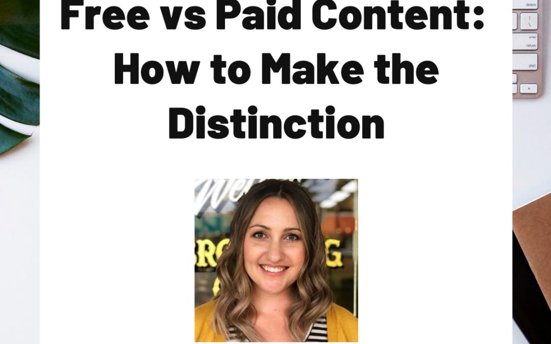 TURD021 Free vs Paid Content