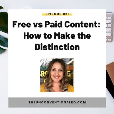 #21: Free vs Paid Content – How to Make the Distinction