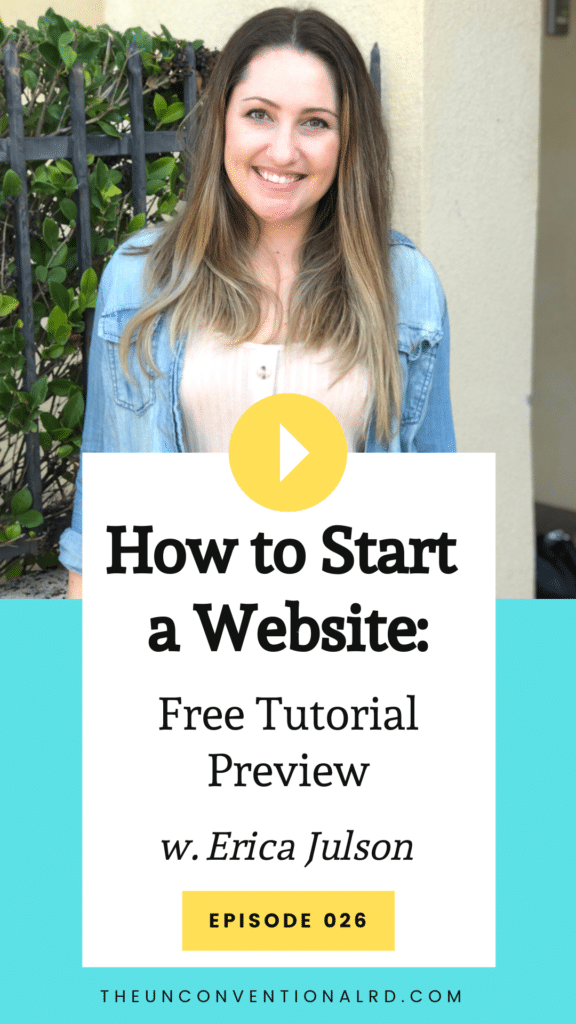 Episode 026 Main Image - How to Start a Website