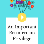 Episode 023: An Important Resource on Privilege from Christine Dyan