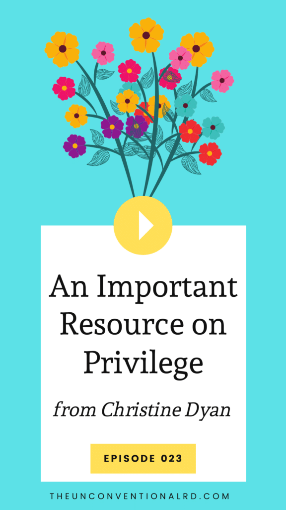 TURD023 An Important Resource on Privilege
