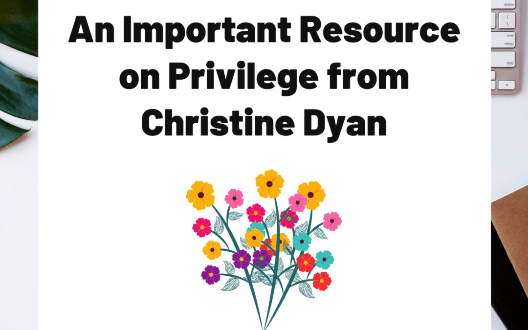 TURD023 An Important Resource on Privilege from Christine Dyan