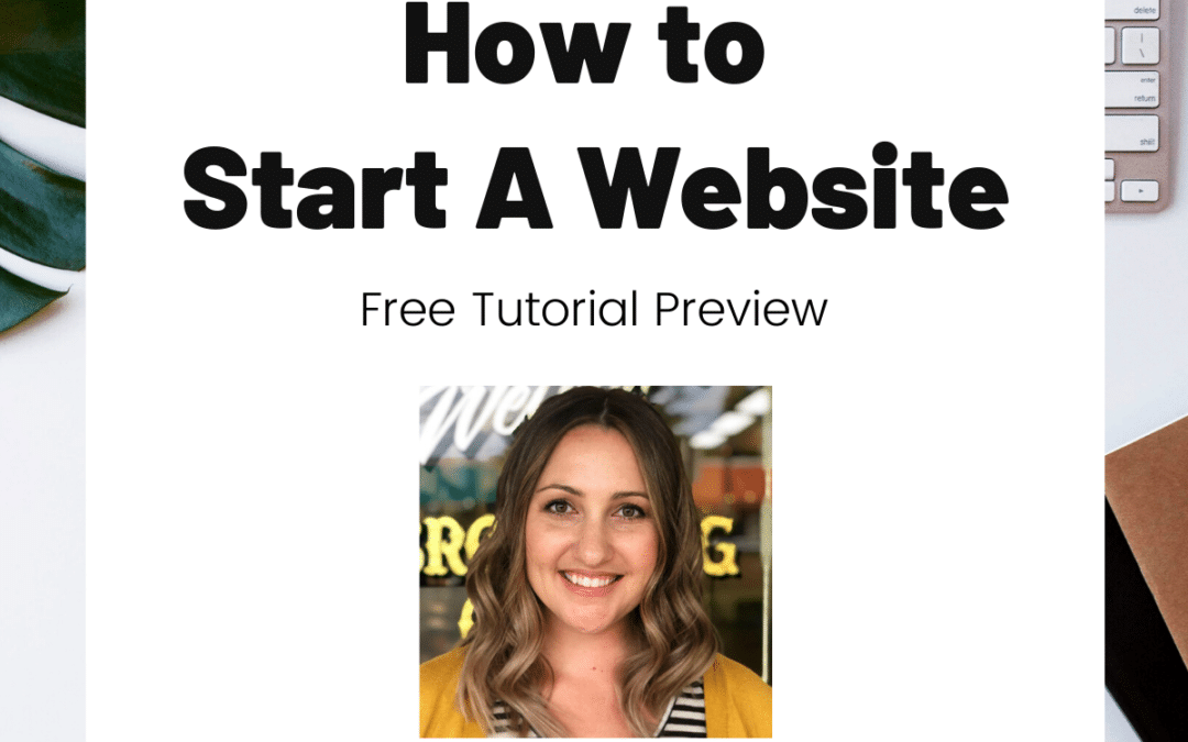 TURD026 How to Start a Website