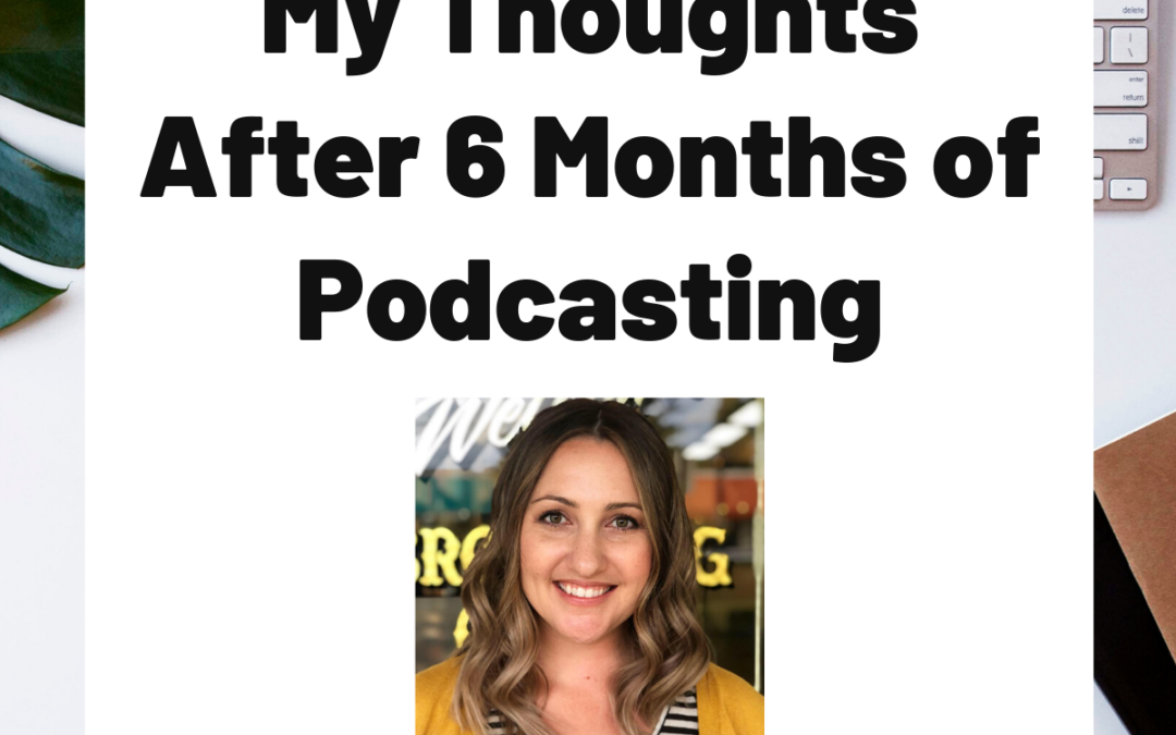 TURD029 My Thoughts After 6 Months of Podcasting