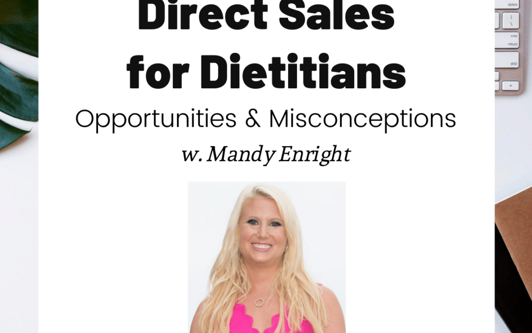 TURD030 Direct Sales for Dietitians - Mandy Enright