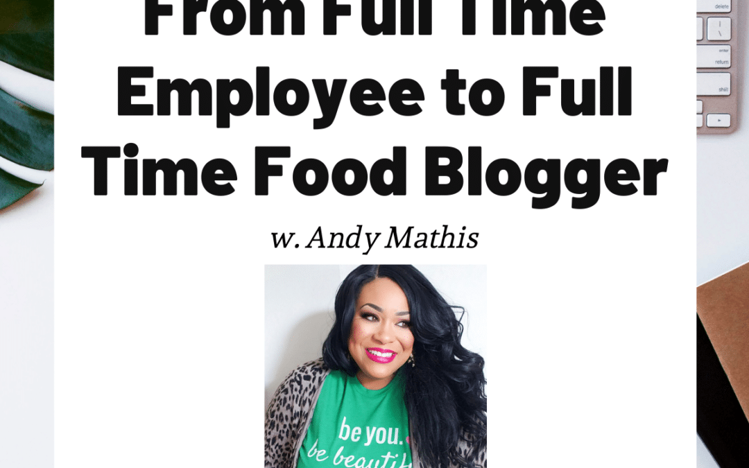 TURD036 From Full Time Employee to Full Time Food Blogger - Andy Mathis
