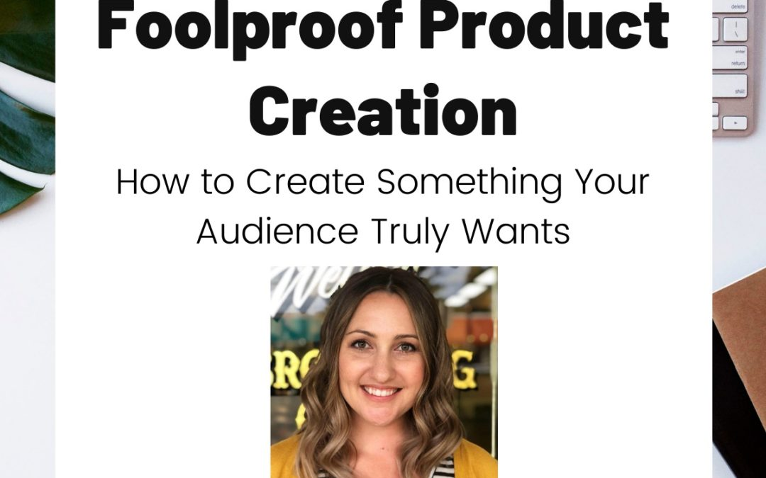 TURD038 Foolproof Product Creation