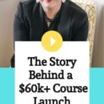 Episode 042 The Story Behind a Successful $60k+ Course Launch - Melissa Groves Azzaro