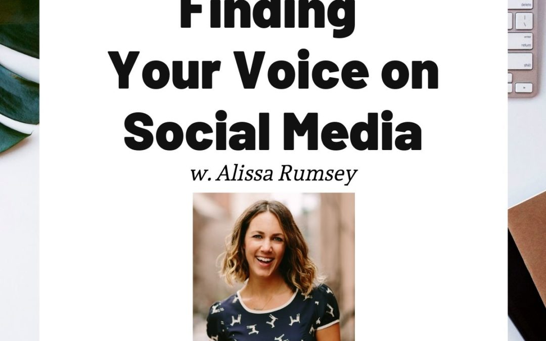TURD040 Finding Your Voice on Social Media - Alissa Rumsey