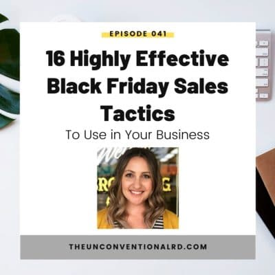 #41: 16 Highly Effective Black Friday Sales Tactics to Use in Your Business