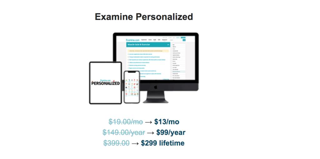 Examine.com Black Friday Sale 2020