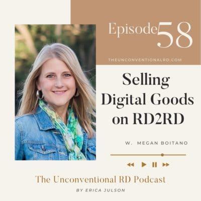 #058: Selling Digital Goods on RD2RD – Megan Boitano