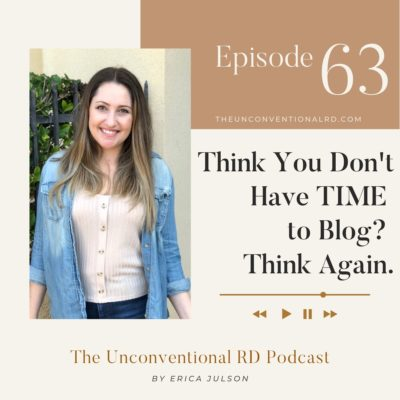 #63: Think You Don't Have Time to Blog? Think Again