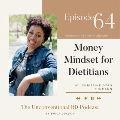 #064: Money Mindset For Dietitians with Christine Dyan Thomson
